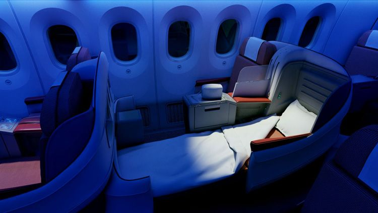 luxury airline seats