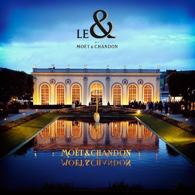 Mo�t & Chandon Pop-Up Le & Restaurant
