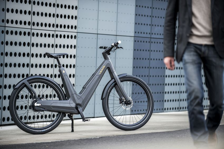 Leaos carbon fiber urban e-bike