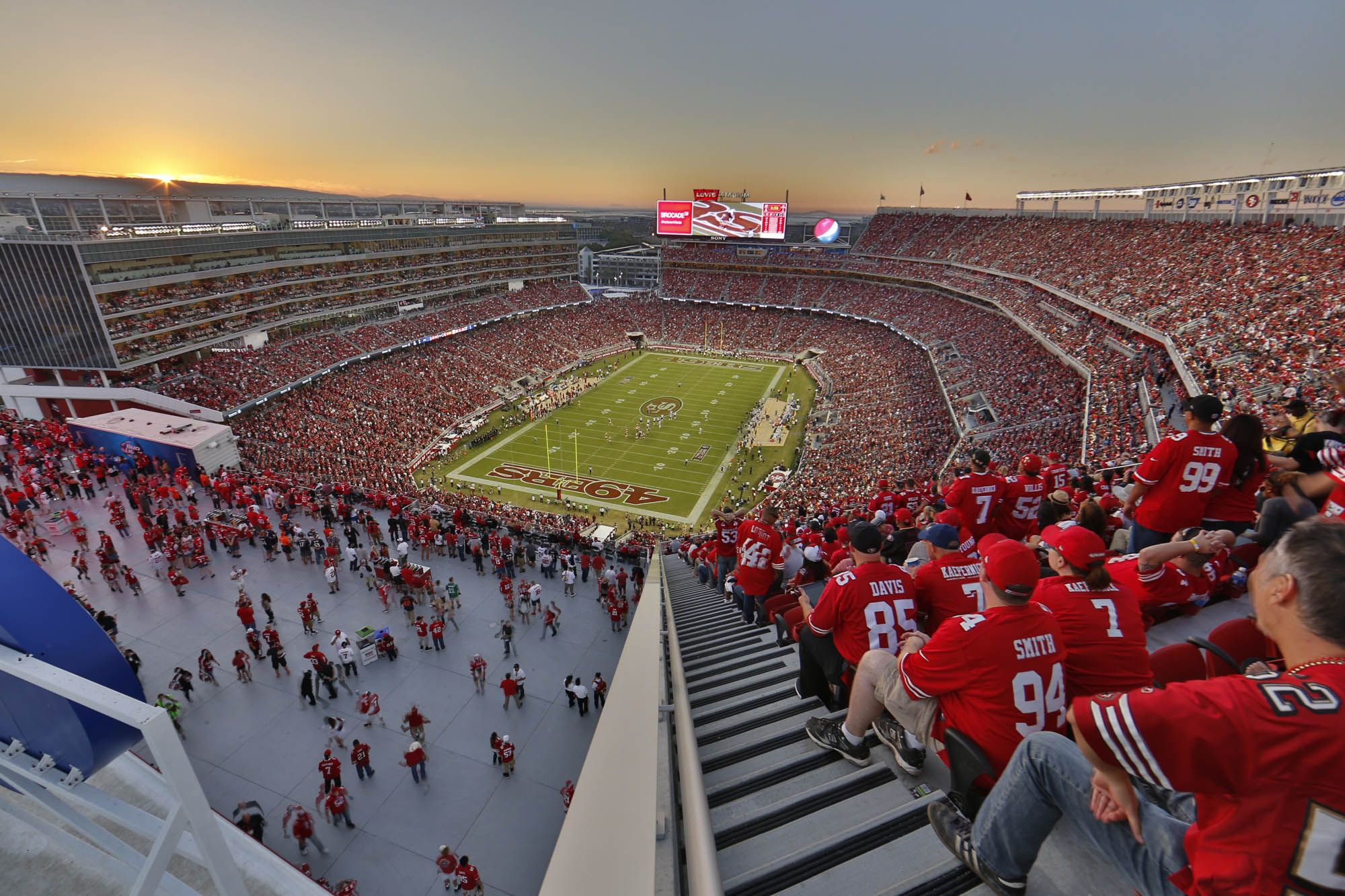 Levi's Stadium, 49ers, super bowl 50, vip tour