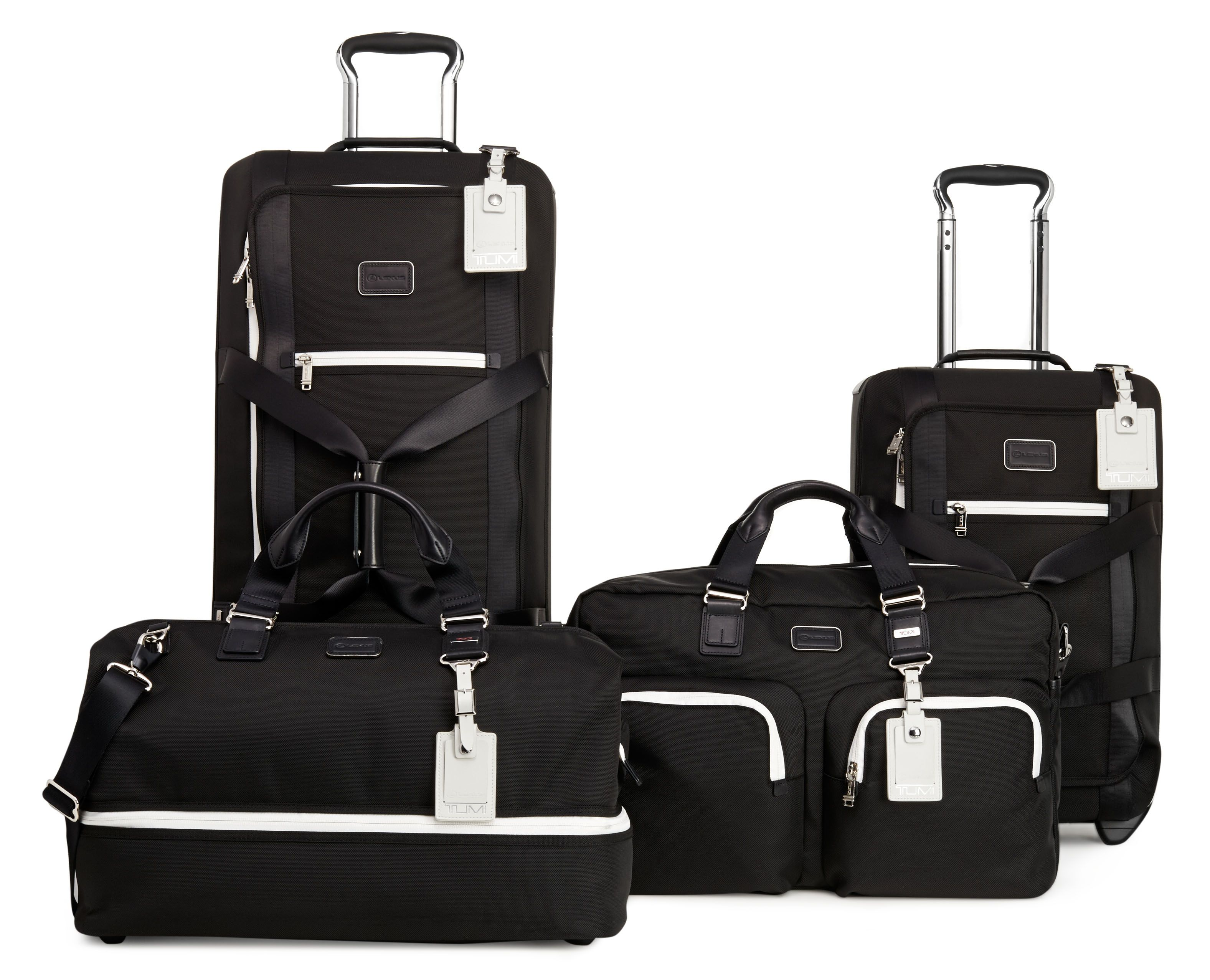 lexus the crafted line tumi luggage