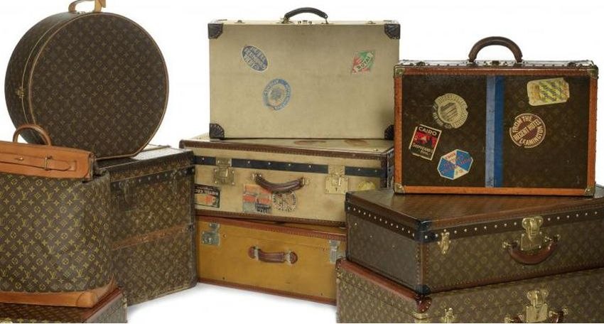 Bonhams vintage luggage
