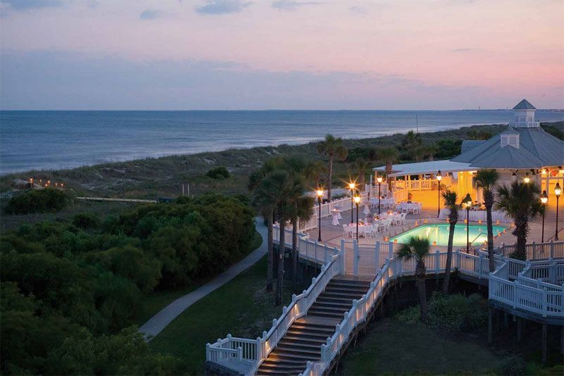 Arial View of Wild Dunes Resort, Isle of Palms SC