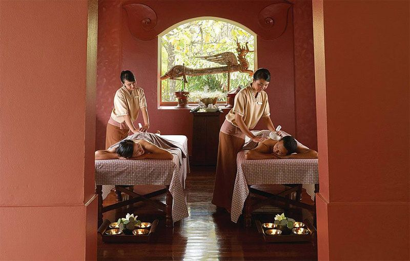 The Royal Lanna Treatment at the Four Seasons Chiang Mai.