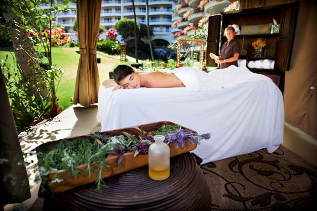 The Fairmont Kea Lani's new Garden Spa Cabana.