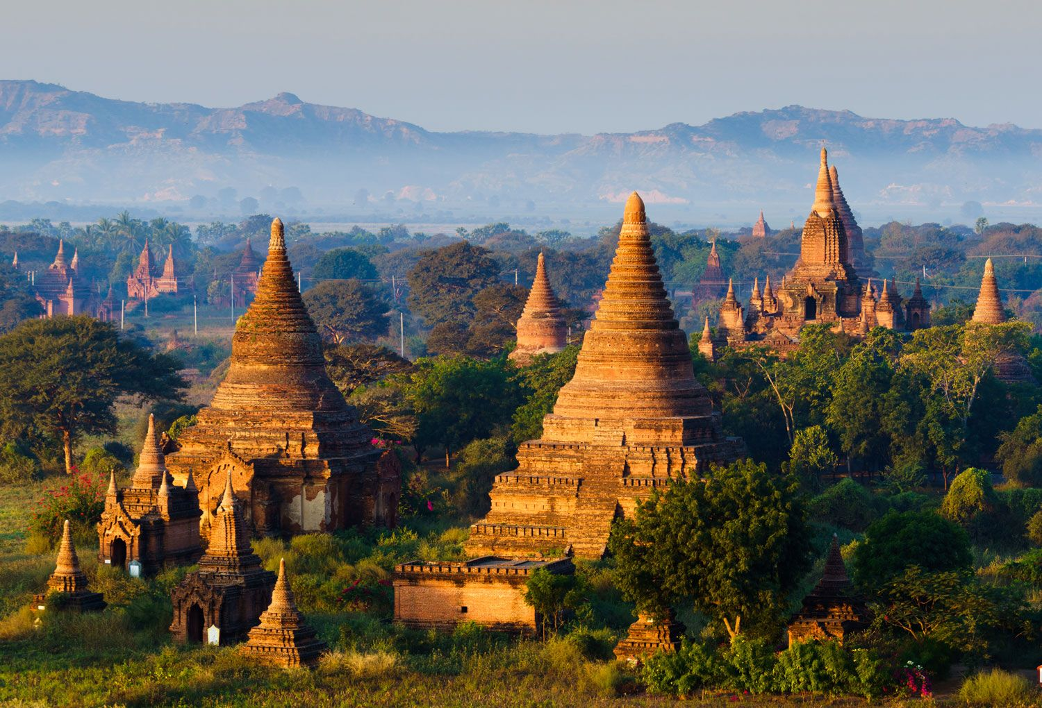 Myanmar, once closed to the world, is open.