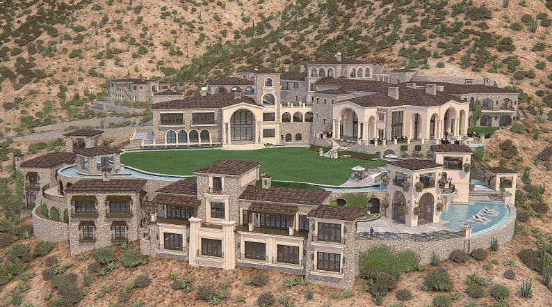scottsdale, mansion, real estate