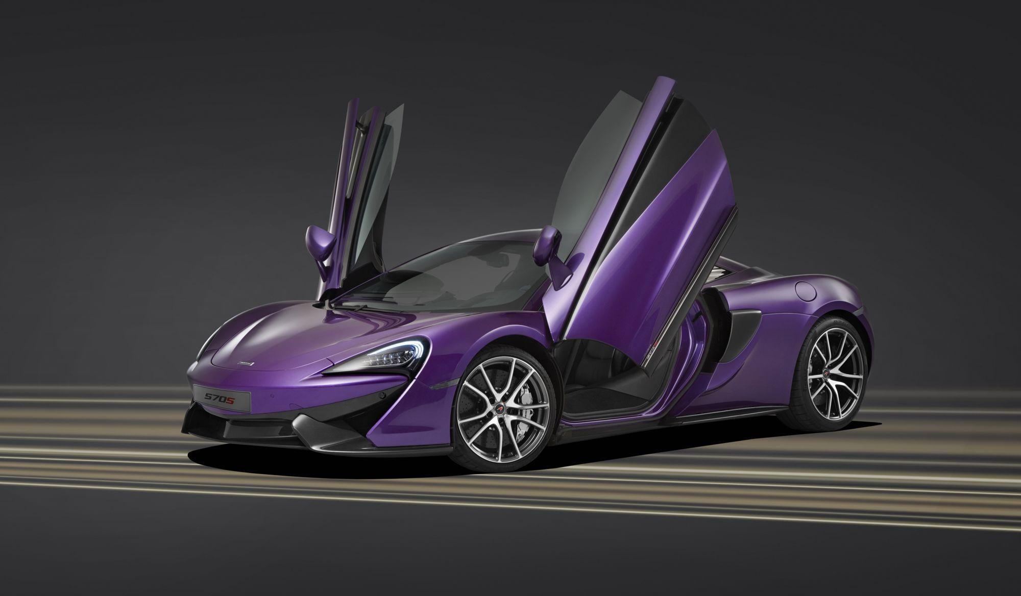 McLaren Automotive Limited, pebble beach