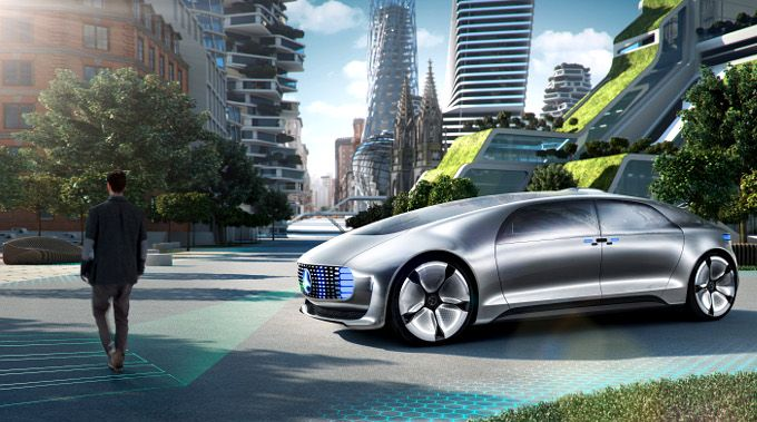 Mercedes-Benz, F 015 Luxury in Motion, autonomous car