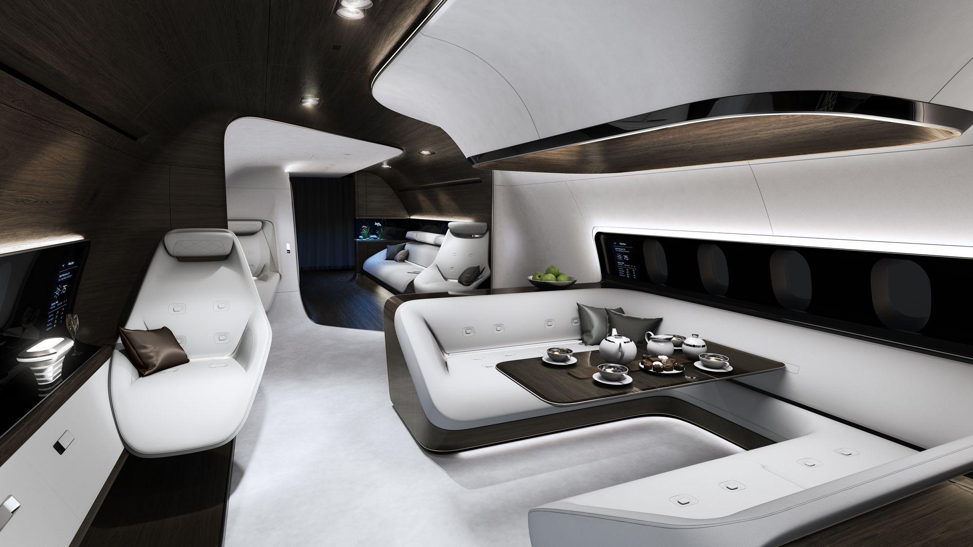 Mercedes-Benz, Lufthansa ,VIP Jet Cabin