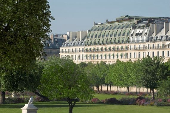 Le Meurice Exterior