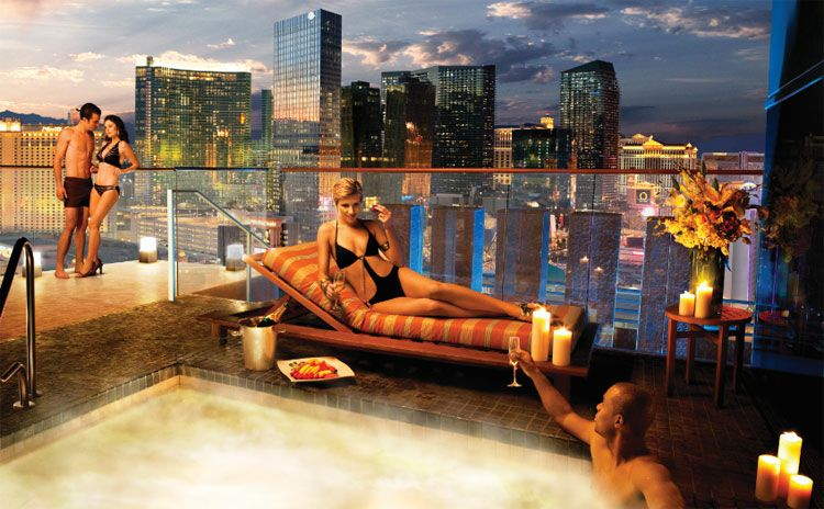 Skylofts At Mgm Grand Welcomes Guests To The Height Of