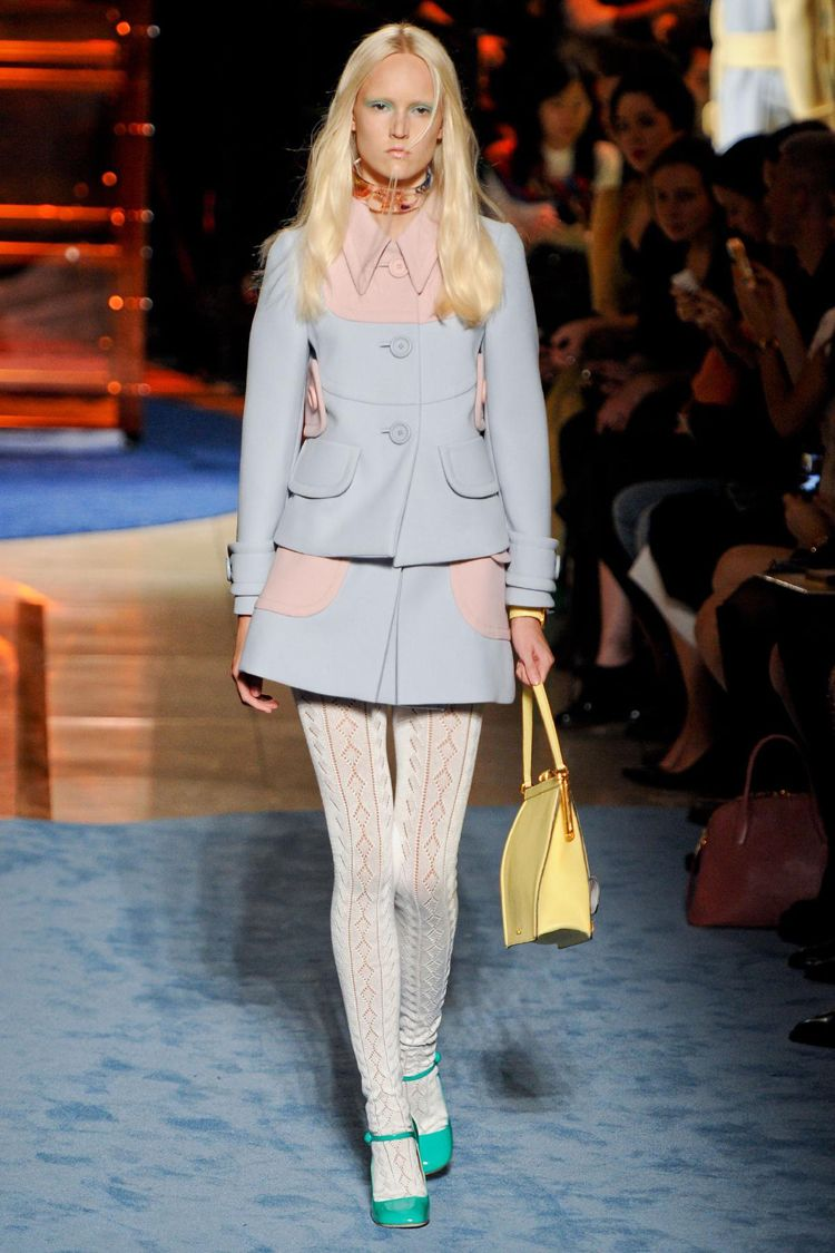 Miu Miu runway Paris Fashion Week