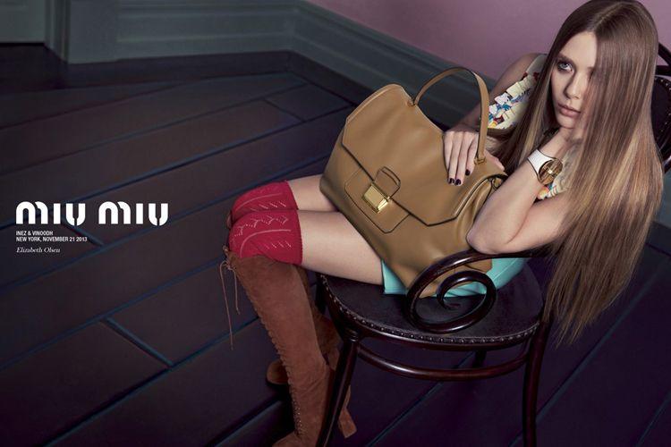 Miu Miu Spring 2014 campaign