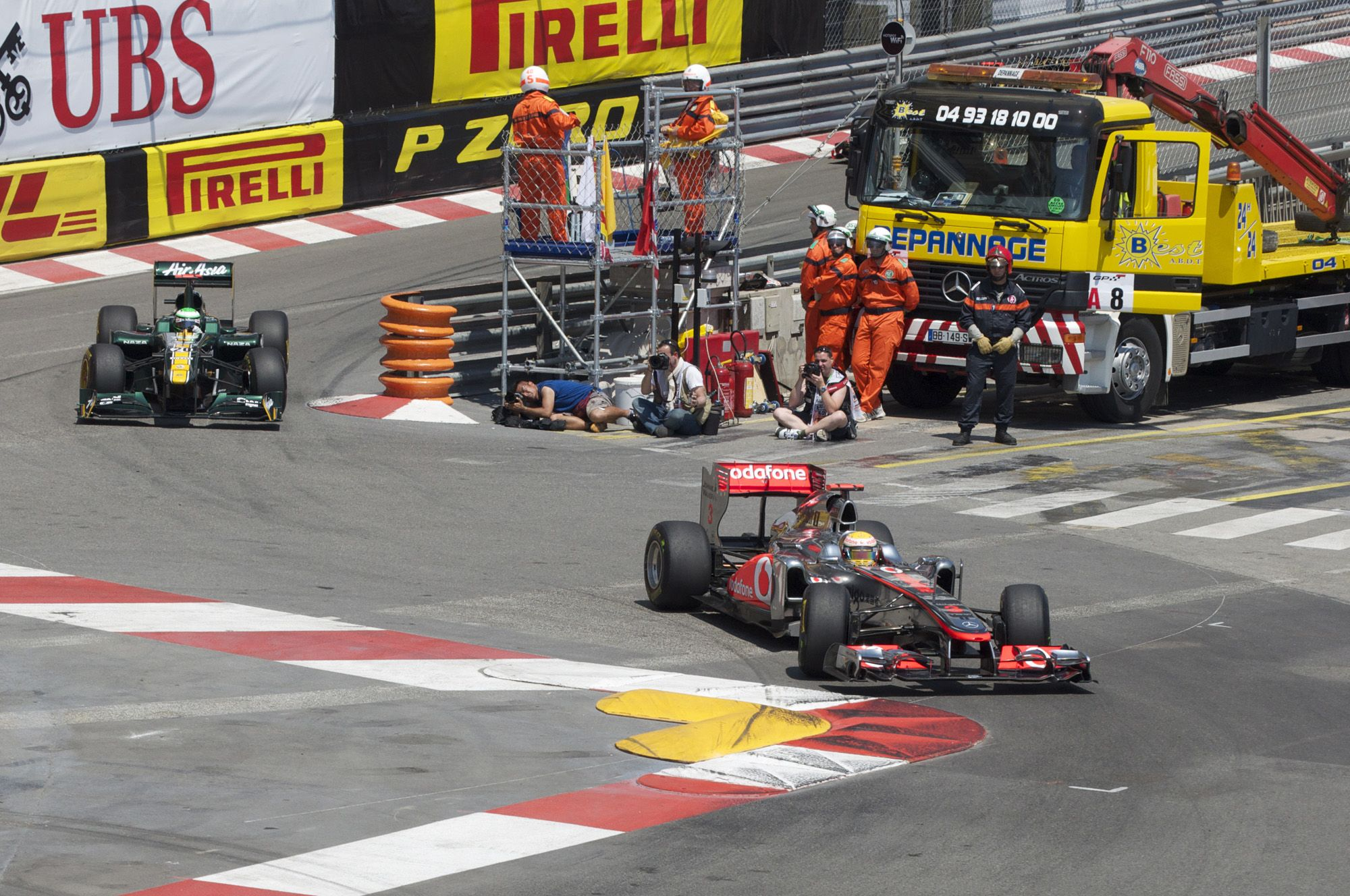 Monaco Grand Prix, car crashes, monaco, grand prix, formula one