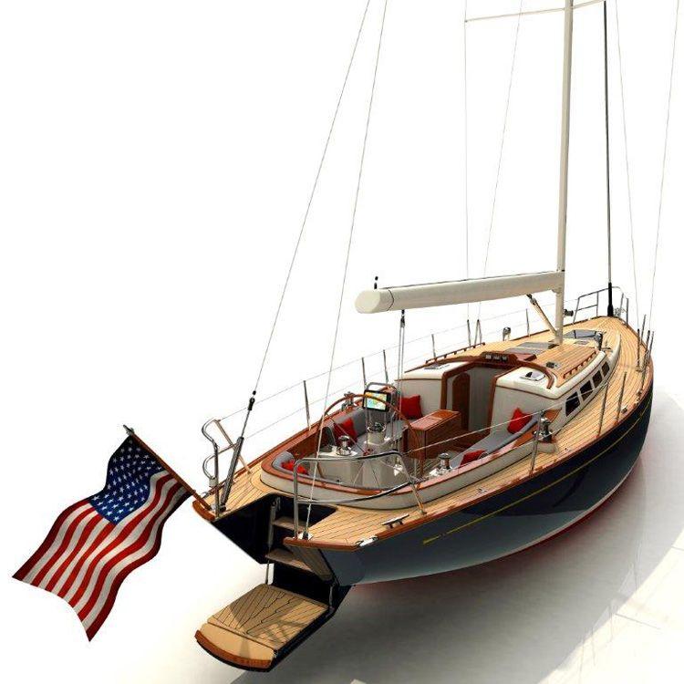 Morris Yachts M46 Modern Classic