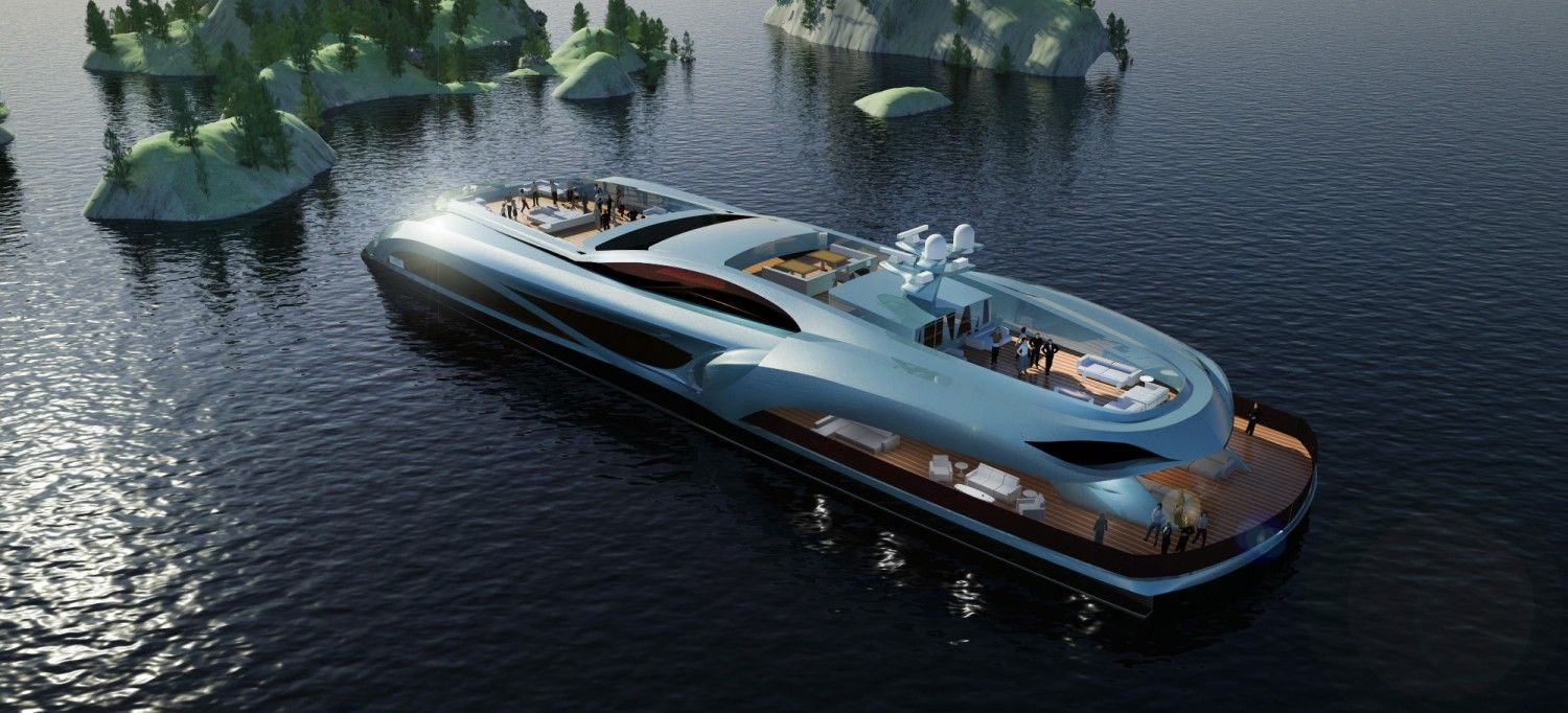70m xhibitionist event super yacht could throw one of the