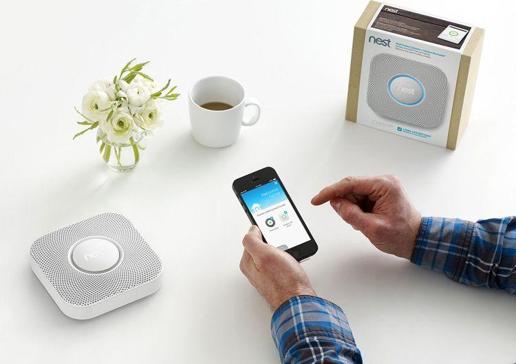 Nest Protect Smoke & Carbon Monoxide Detector