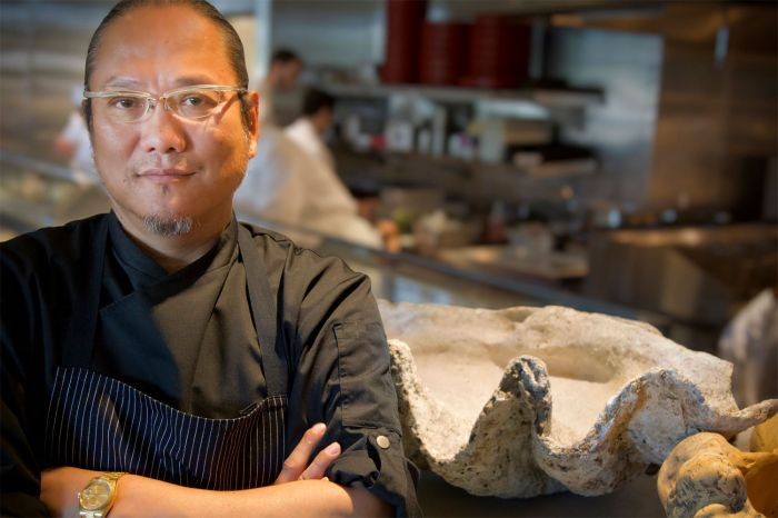 Chef Morimoto On His New Restaurant Observing Diners