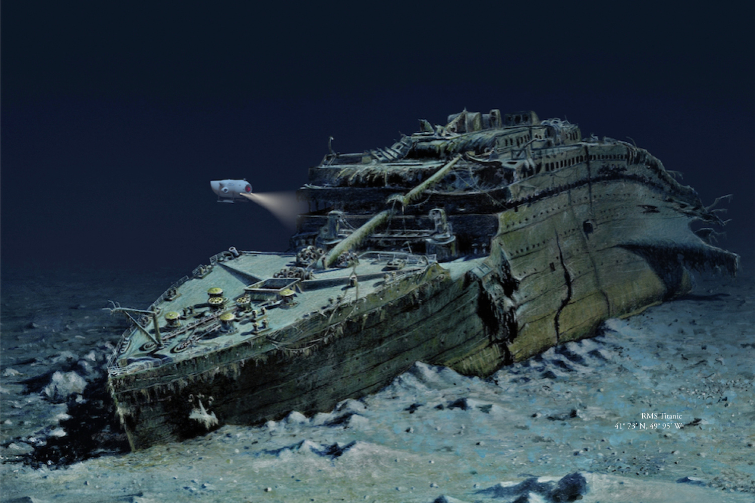 Dive the Site of the Infamous Titanic Shipwreck Next Spring