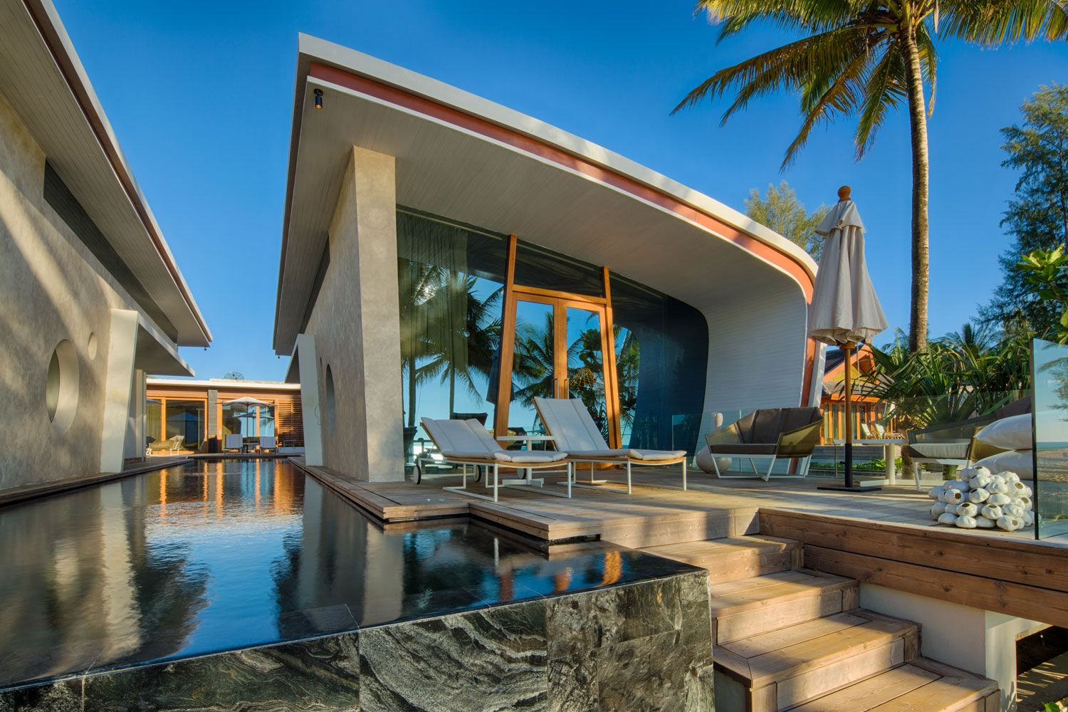 10 Global Designers Amp One Beach House A Mastery Of Contemporary Design In Thailand