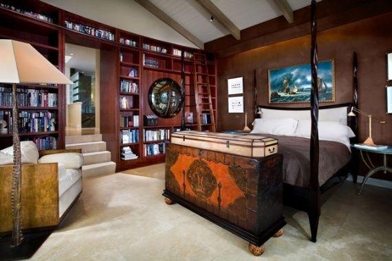 Pirate Inspired Interior Design Of Screenwriter S