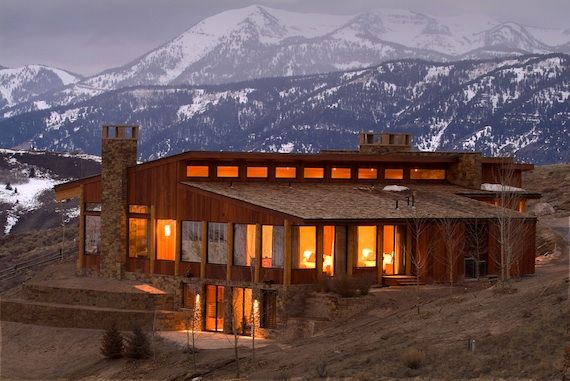Quintess Home at Amangani, Jackson Hole, Wyoming