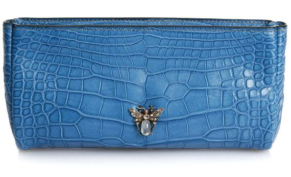 Masterpiece Collection - Annalena 2 clutch in vivid blue matte