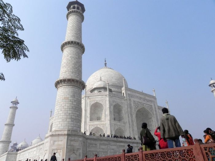 Soaring over visitors this white marble structure is a World He