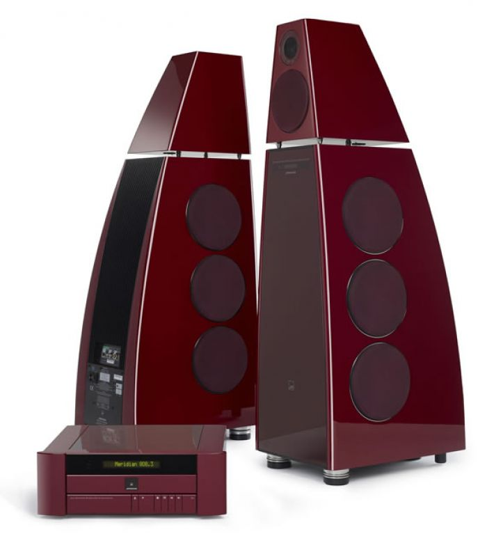 Meridian Limited Edition 40th anniversary sound system