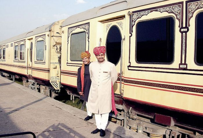 Palace on WHeels at Safdarjang Railway Station in Delhi