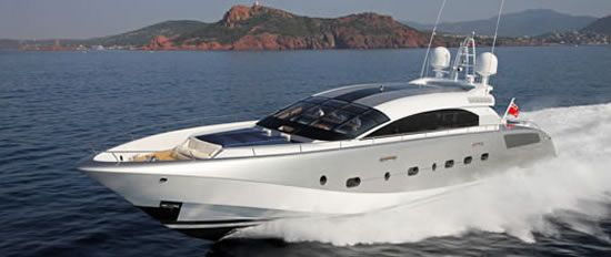 Luxury yatch