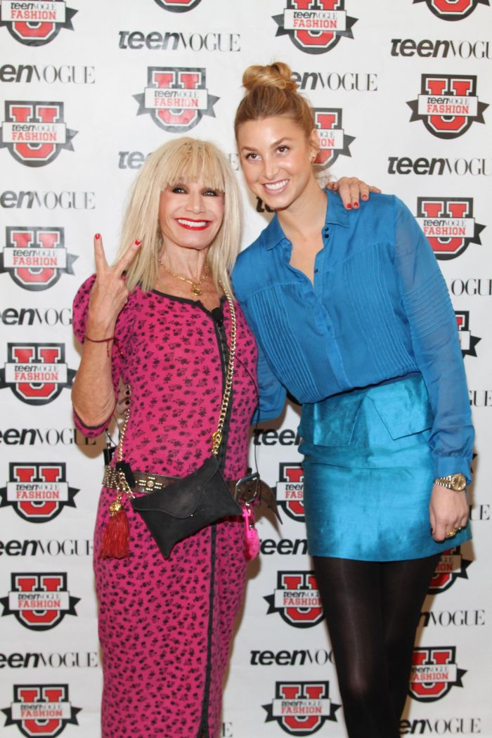 Betsey Johnson and Whitney Port at Teen Vogue's Fashion Univers