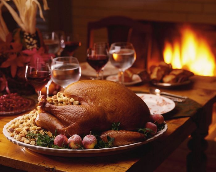 Thanksgiving is definitely about delectable food