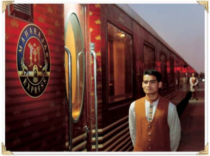 Maharajas Express has become one of the premier luxury trains i
