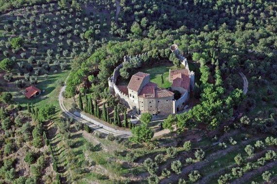 Lakefront Ninth Century Castle