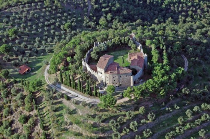 IX Century Castle in central Italy