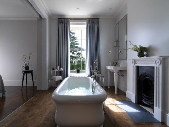 Lime Wood Hotel Bathroom