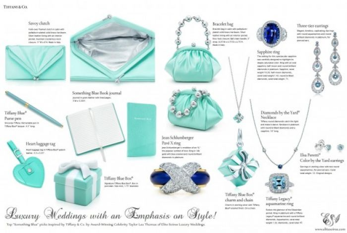 Something Blue picks by Taylor Lea Thomas inspired by Tiffany &