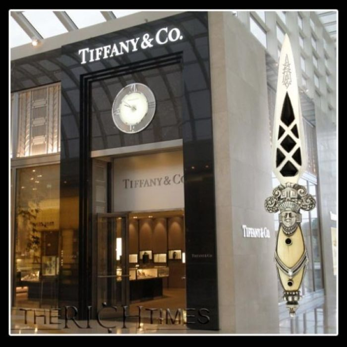Aztec Dagger Sells at Tiffany?s