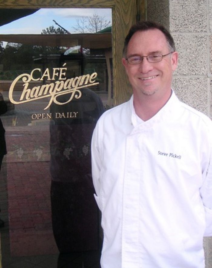 Steve Pickell of Cafe Champagne
