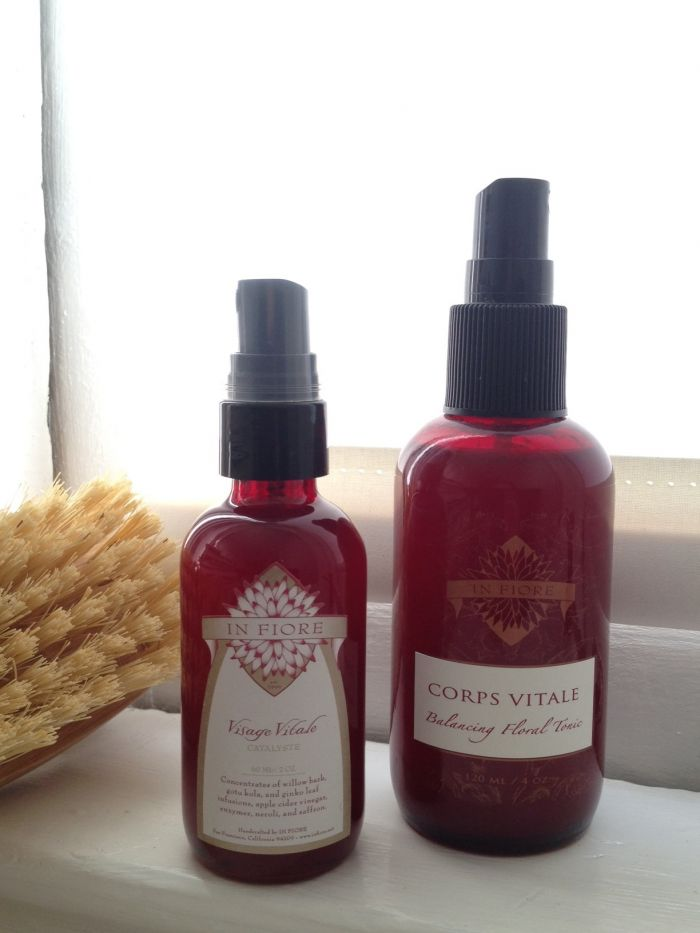 My post-winter skin strategy: Visage Vitale and Corps Vitale