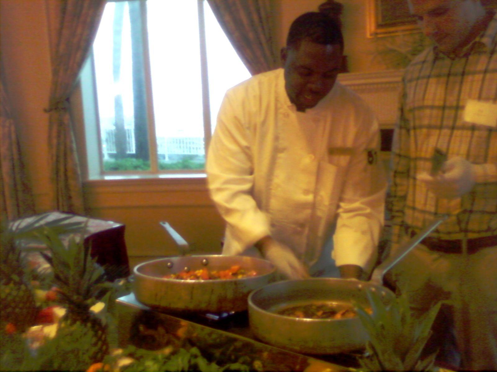 Sous Chef Dwayne Austell