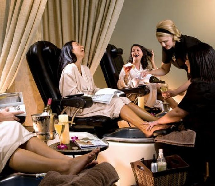 Spa Pedi Party