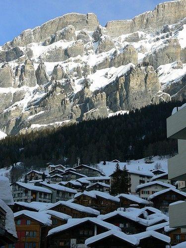 Leukerbad Village Views