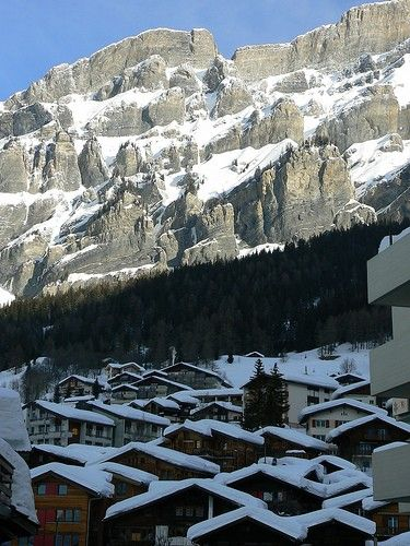 Leukerbad Village Views