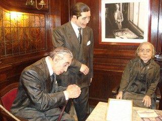 Alfonsina Storni, Carlos Gardel and Jorge Luis Borges