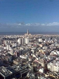 View of Casablanca from Sky 28