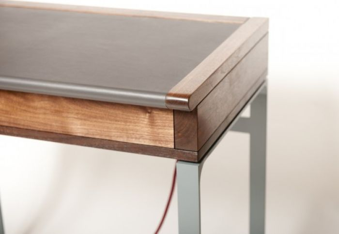 Moston Desk from Scottish luxury furniture atelier - METHOD