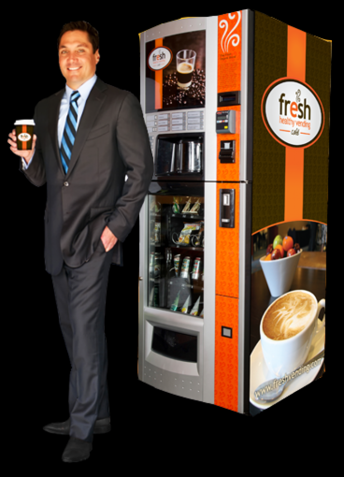 Dan Negroni, CEO of Fresh Healthy Vending